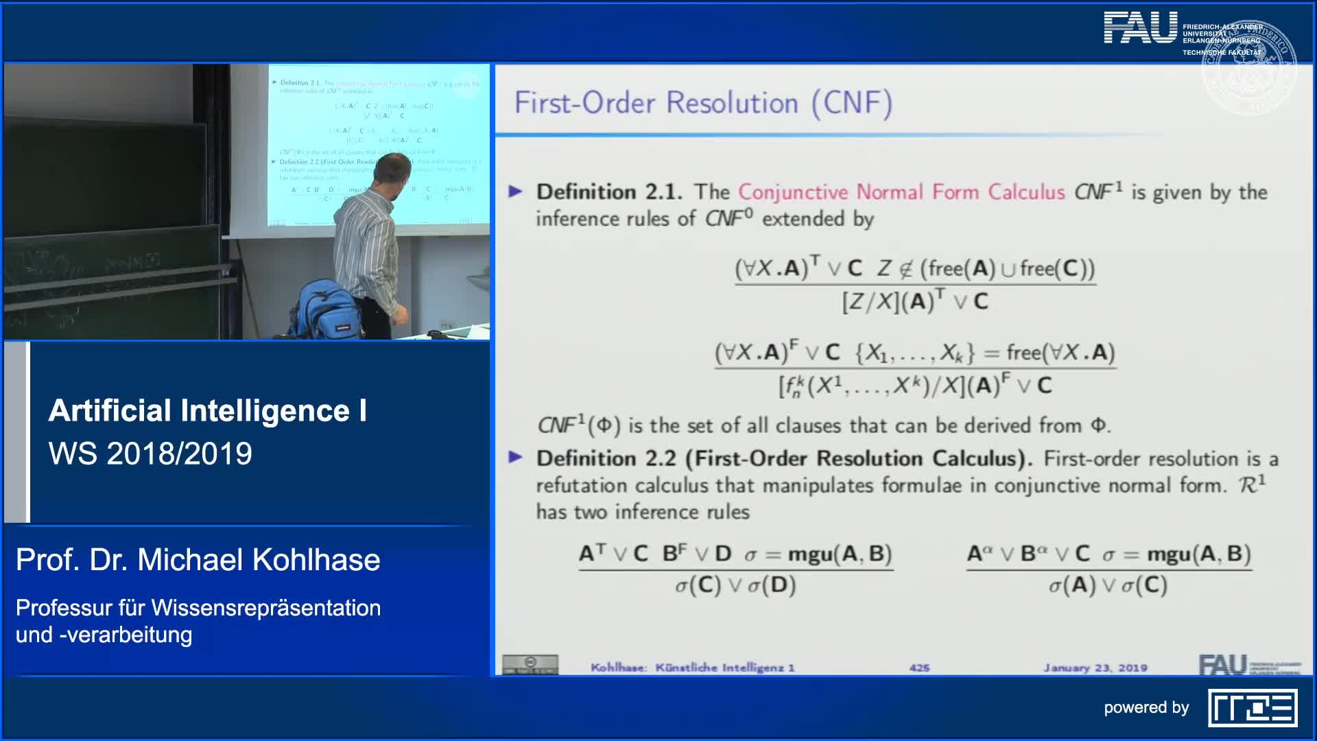 First-Order Resolution (Examples) preview image