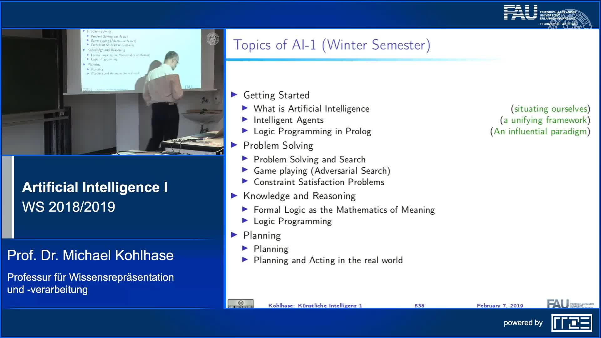 What did we learn in AI 1? preview image