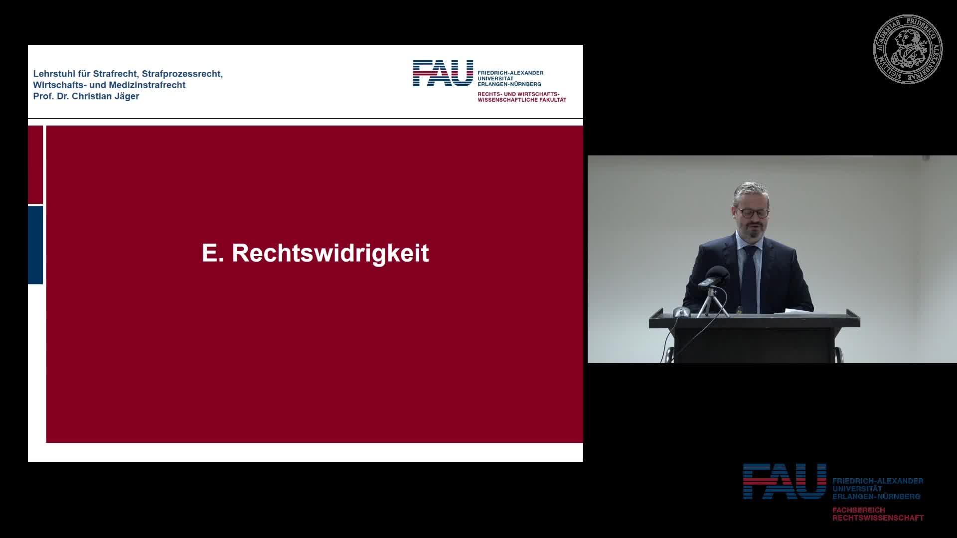 Grundkurs Strafrecht I - Einheit 15 preview image