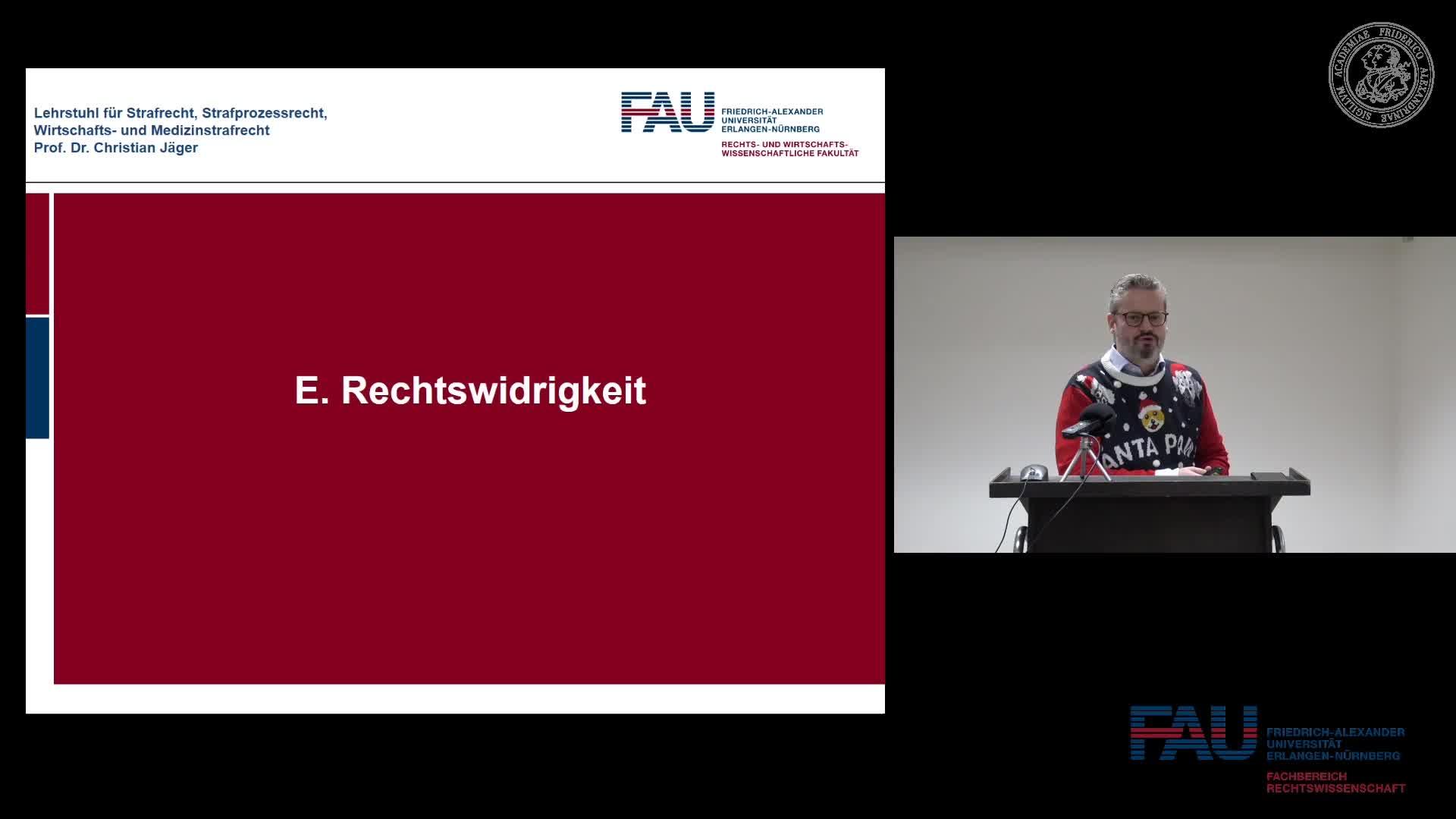 Grundkurs Strafrecht I - Einheit 16 preview image