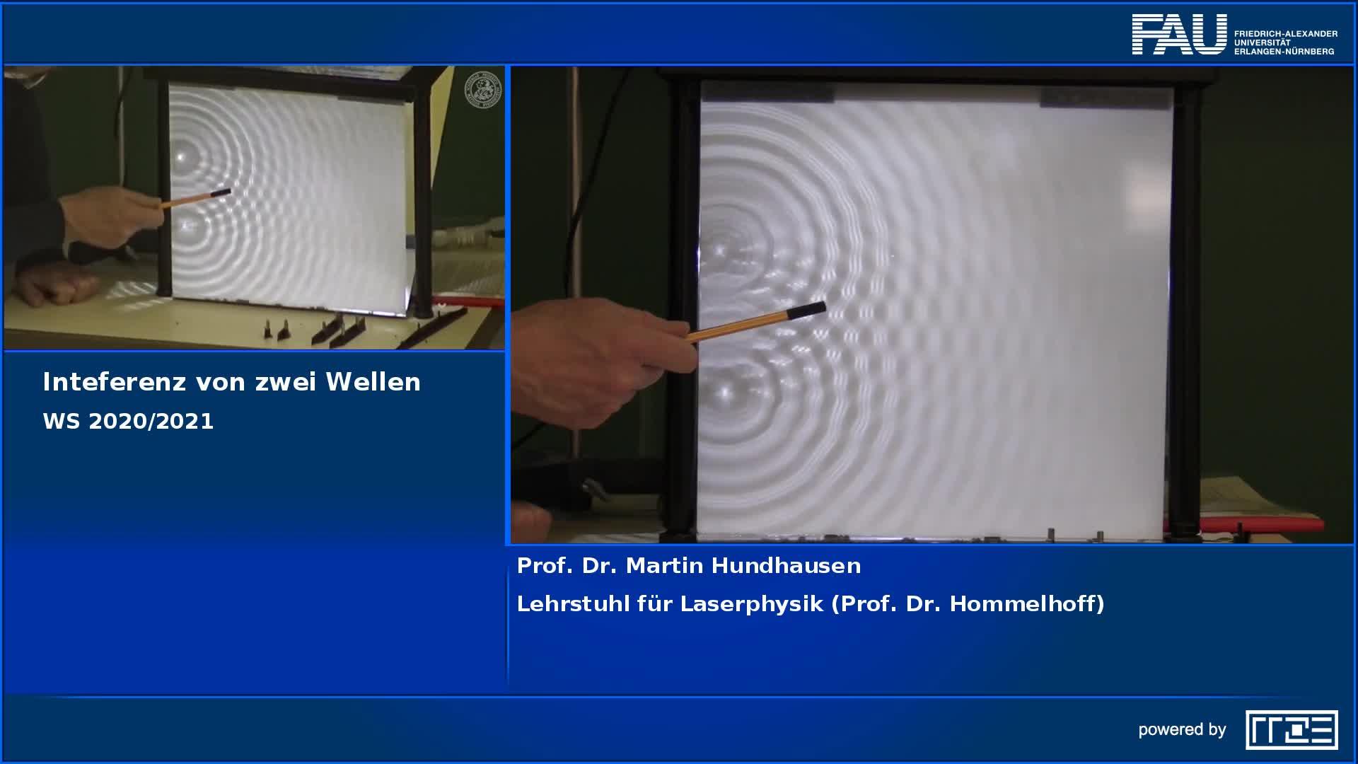 Interferenz zweier Kreiswellen preview image