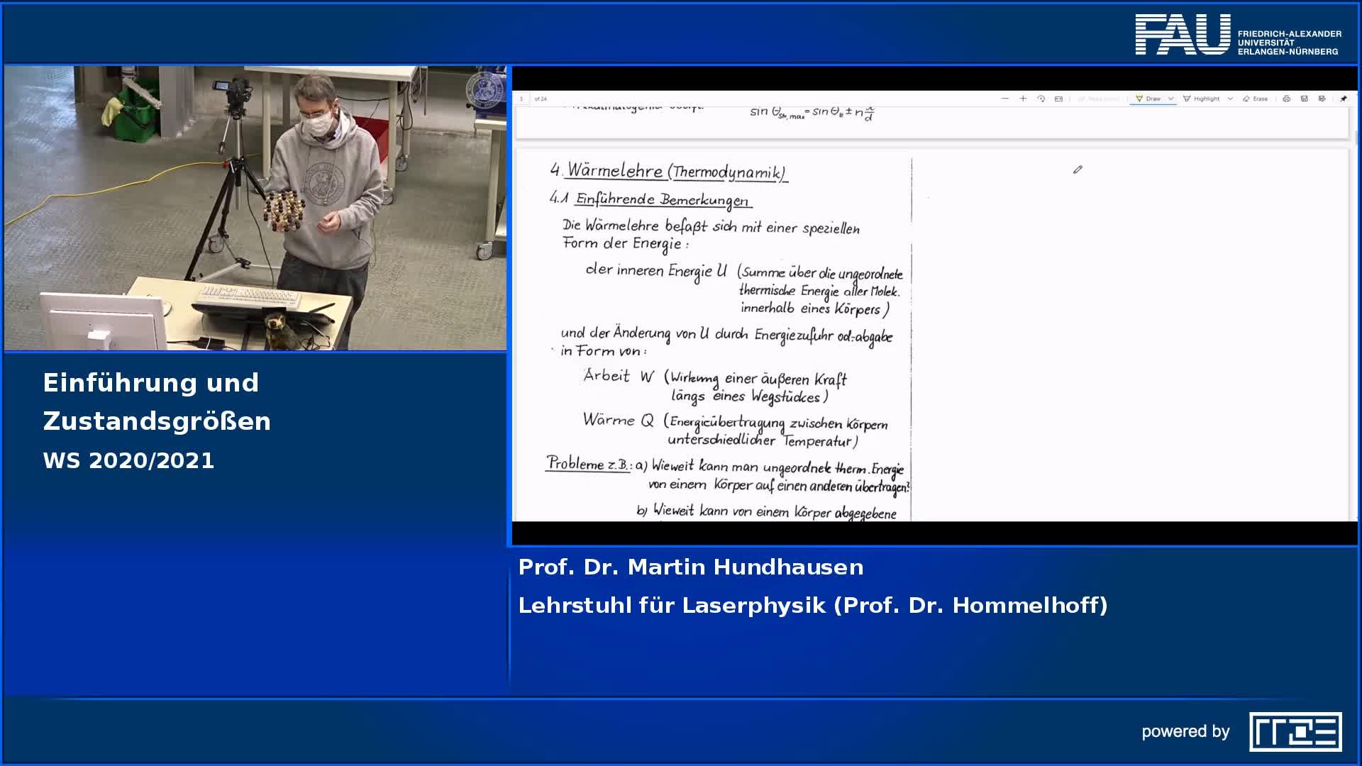Wärmelehre: Einführung und Zustandsgrößen preview image