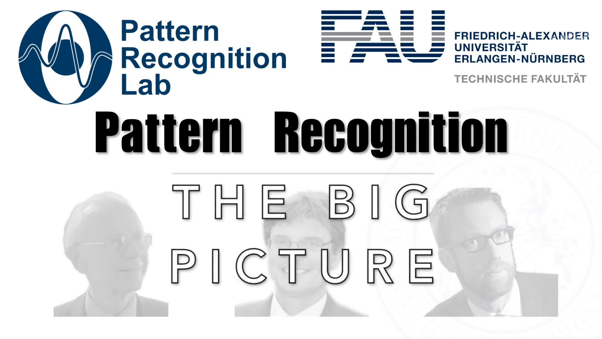 Pattern Recognition [PR] - Q&A - Big Picture preview image