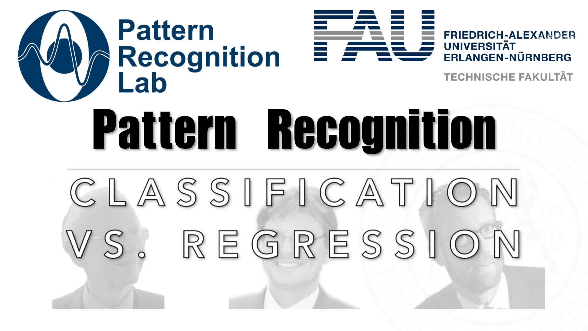 Pattern Recognition [PR] - Q&A - Classification vs. Regression preview image