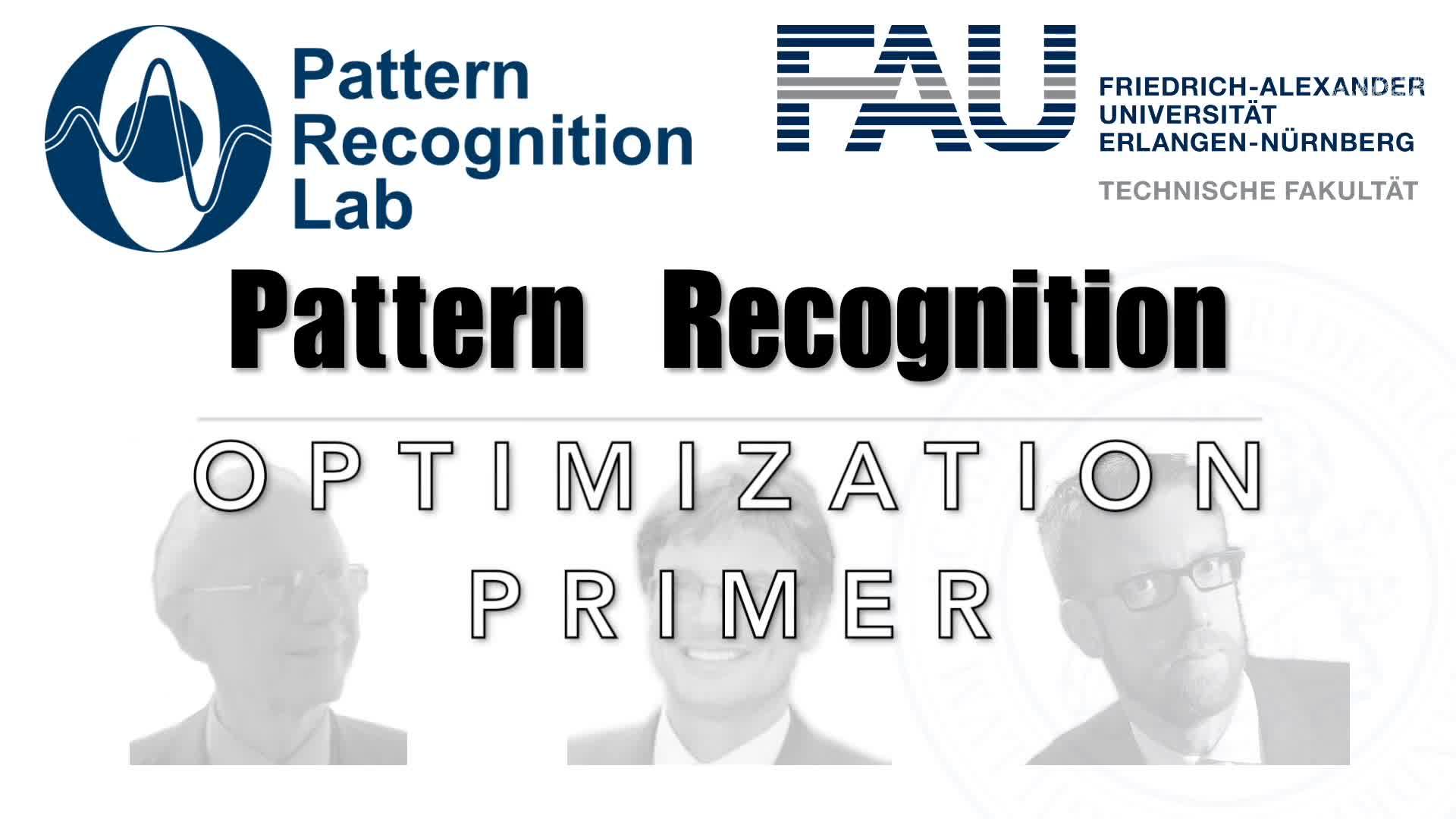 Pattern Recognition [PR] - Q&A - Optimization Primer preview image