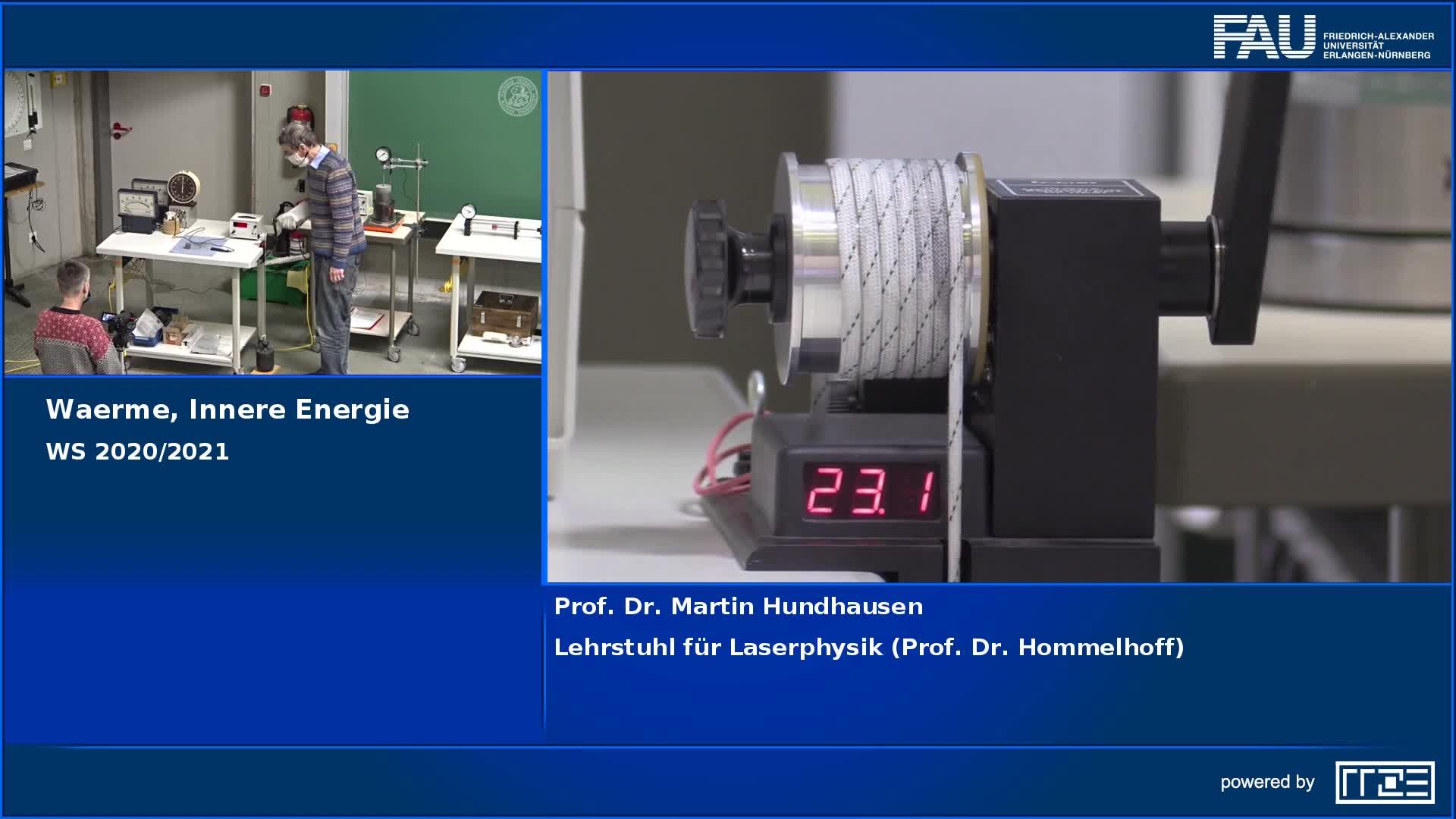 Wärme, innere Energie preview image