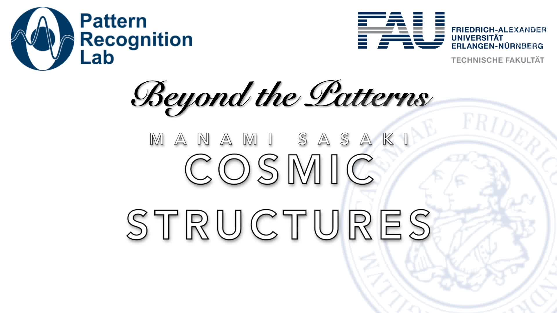 Beyond the Patterns - Manami Sasaki - Cosmic Structures preview image