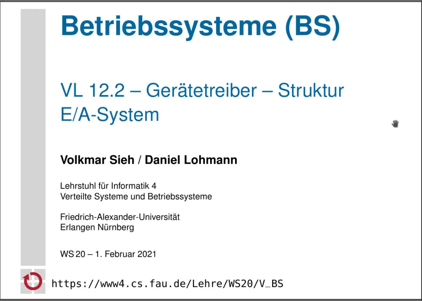 Struktur E/A-System preview image