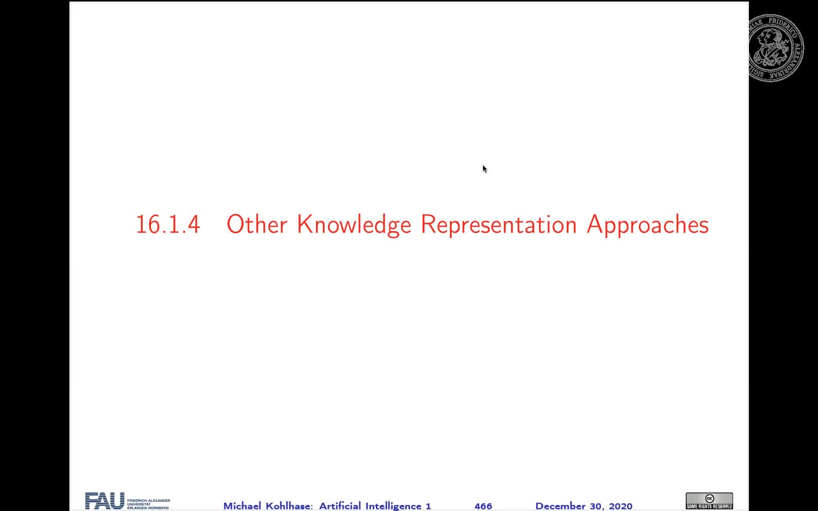 15.1.4 Other Knowledge Representation Approaches preview image