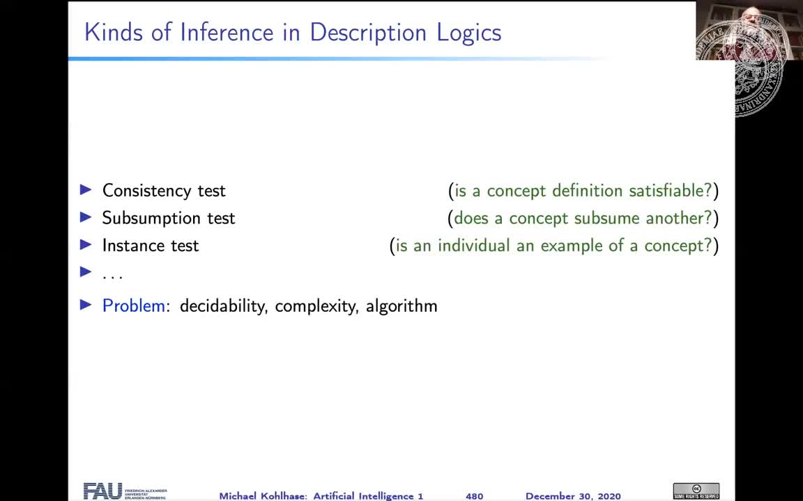 Description Logics and Inference preview image