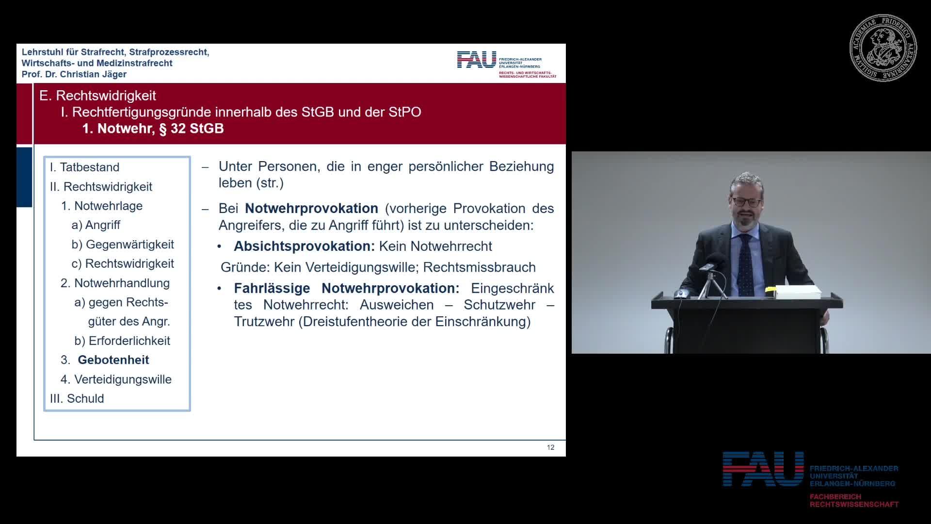 Grundkurs Strafrecht I - Einheit 17 preview image