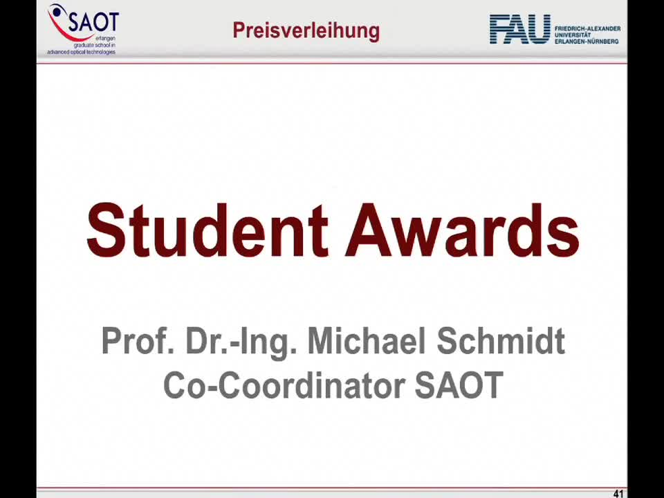 SAOT Young Researcher Award preview image
