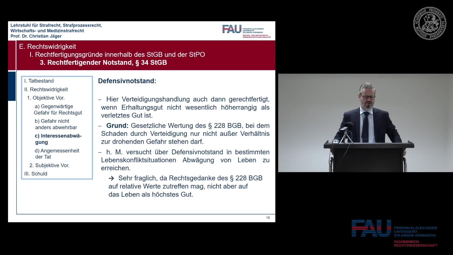 Grundkurs Strafrecht I - Einheit 19 preview image