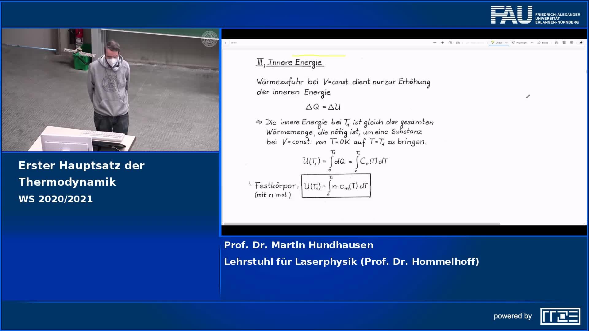 Erster Hauptsatz der Thermodynamik preview image