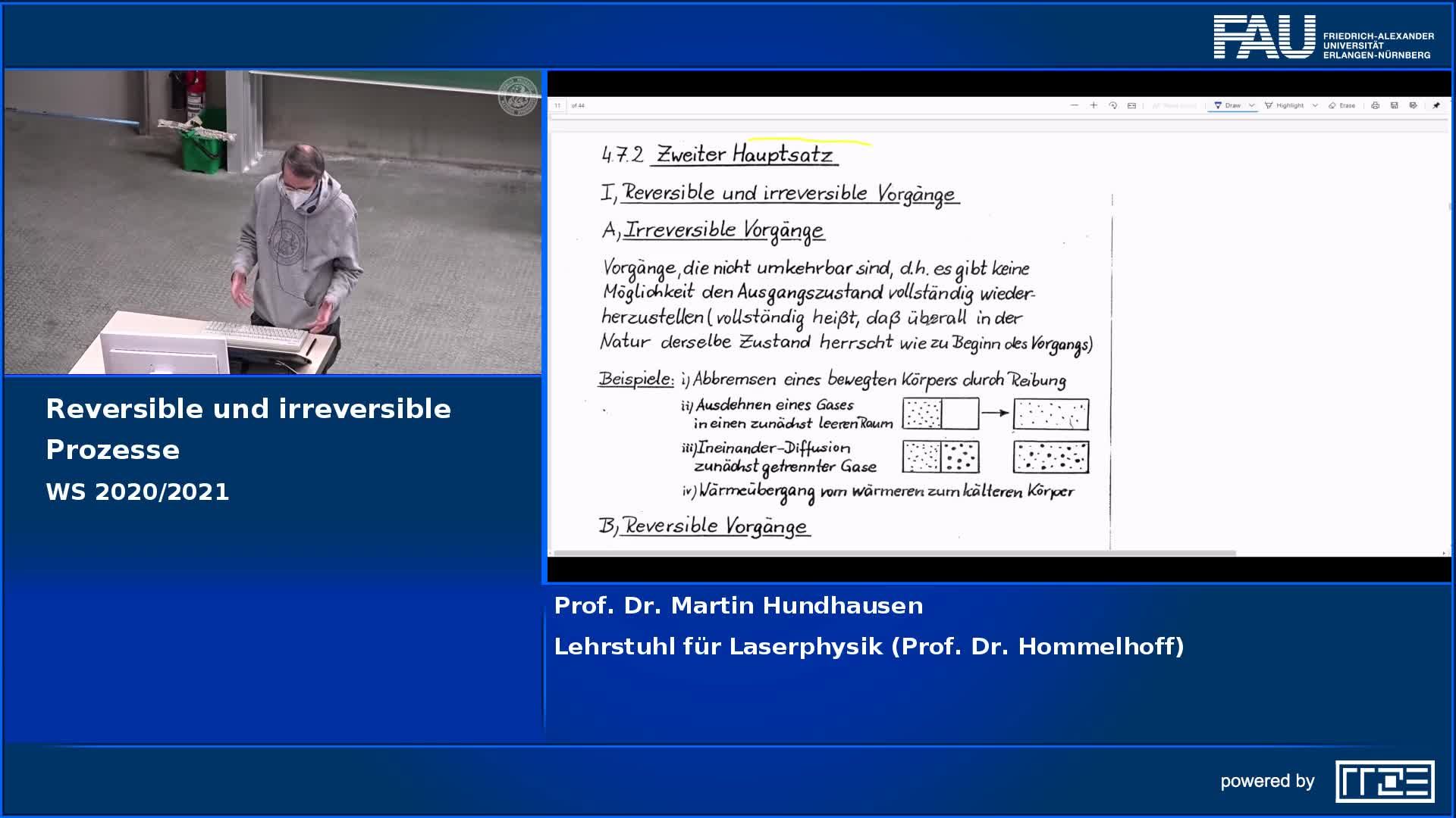Reversible und irreversible Prozesse preview image