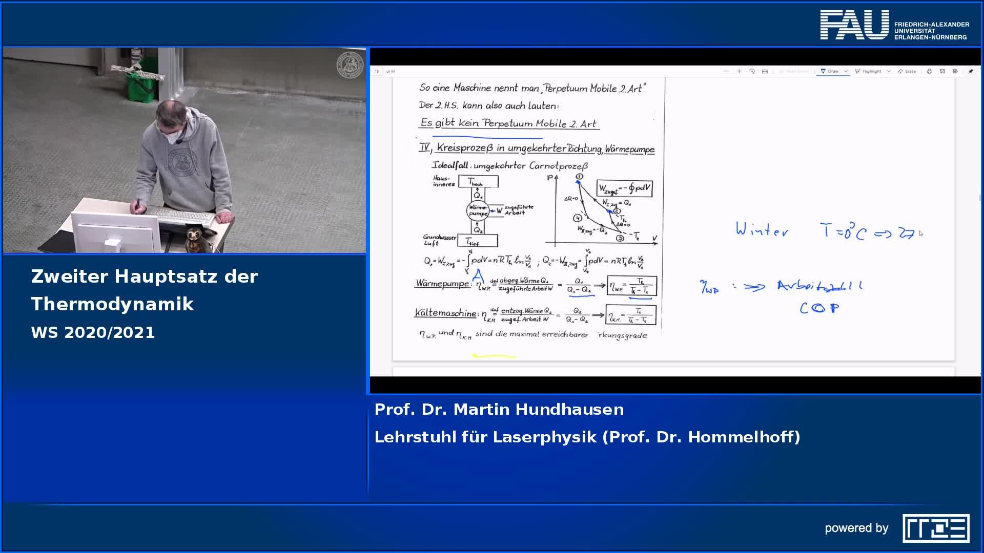 Zweiter Hauptsatz der Thermodynamik preview image