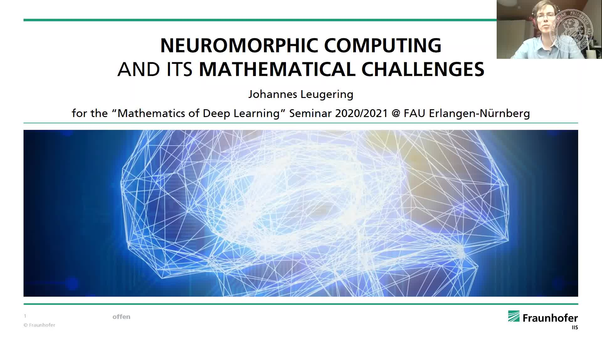 Neuromorphic Computing and its Mathematical Challenges preview image