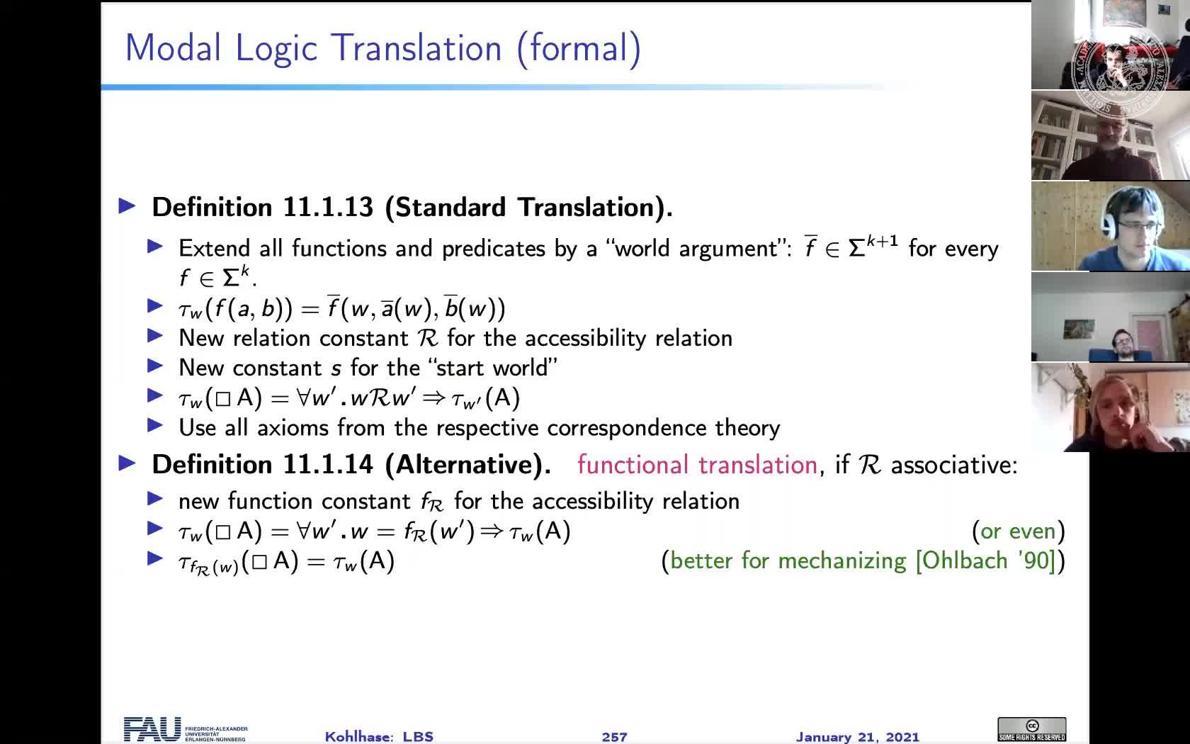 LBS: Logik-Basierte Semantik Natürlicher Sprache preview image