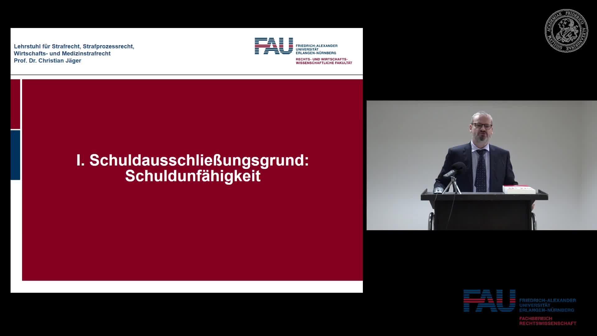 Grundkurs Strafrecht I - Einheit 22 preview image