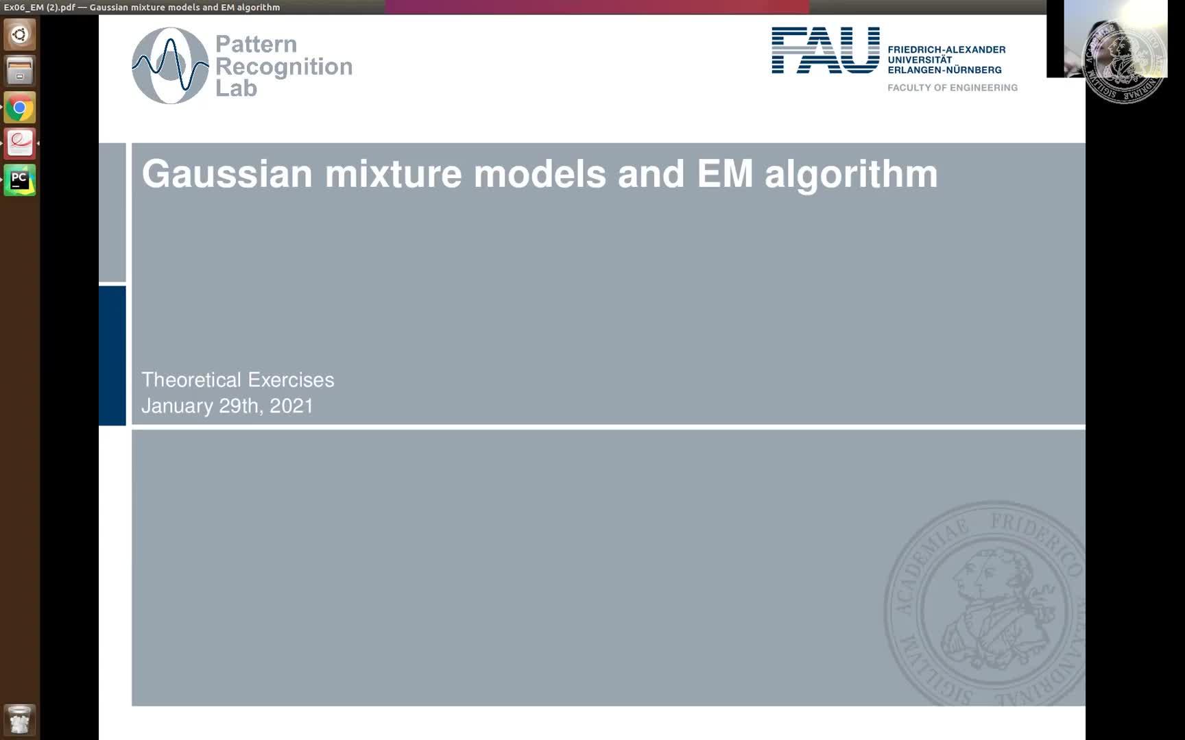 Ex06 Gaussian Mixture Model and EM algorithm preview image