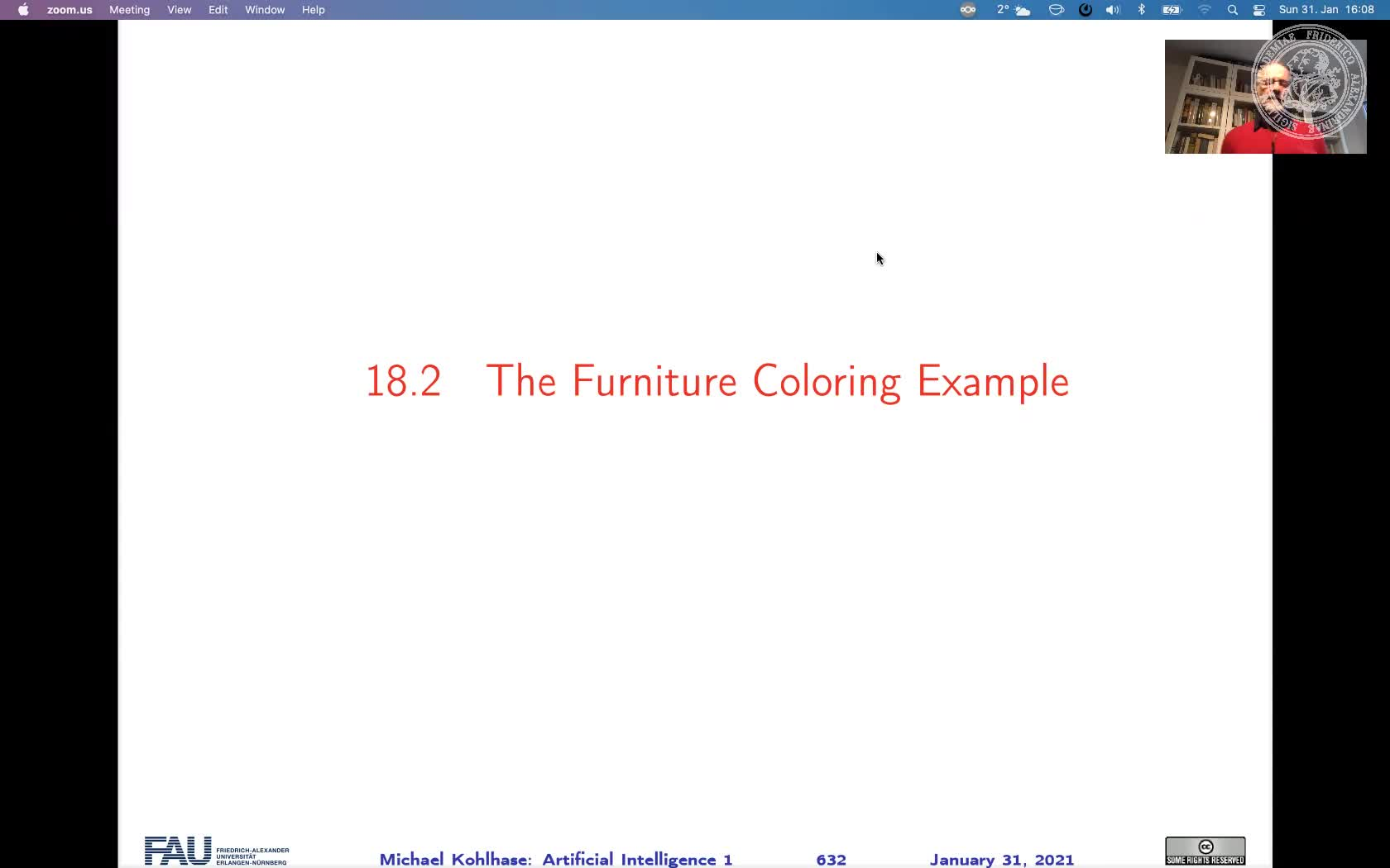 Furniture Coloring Example preview image