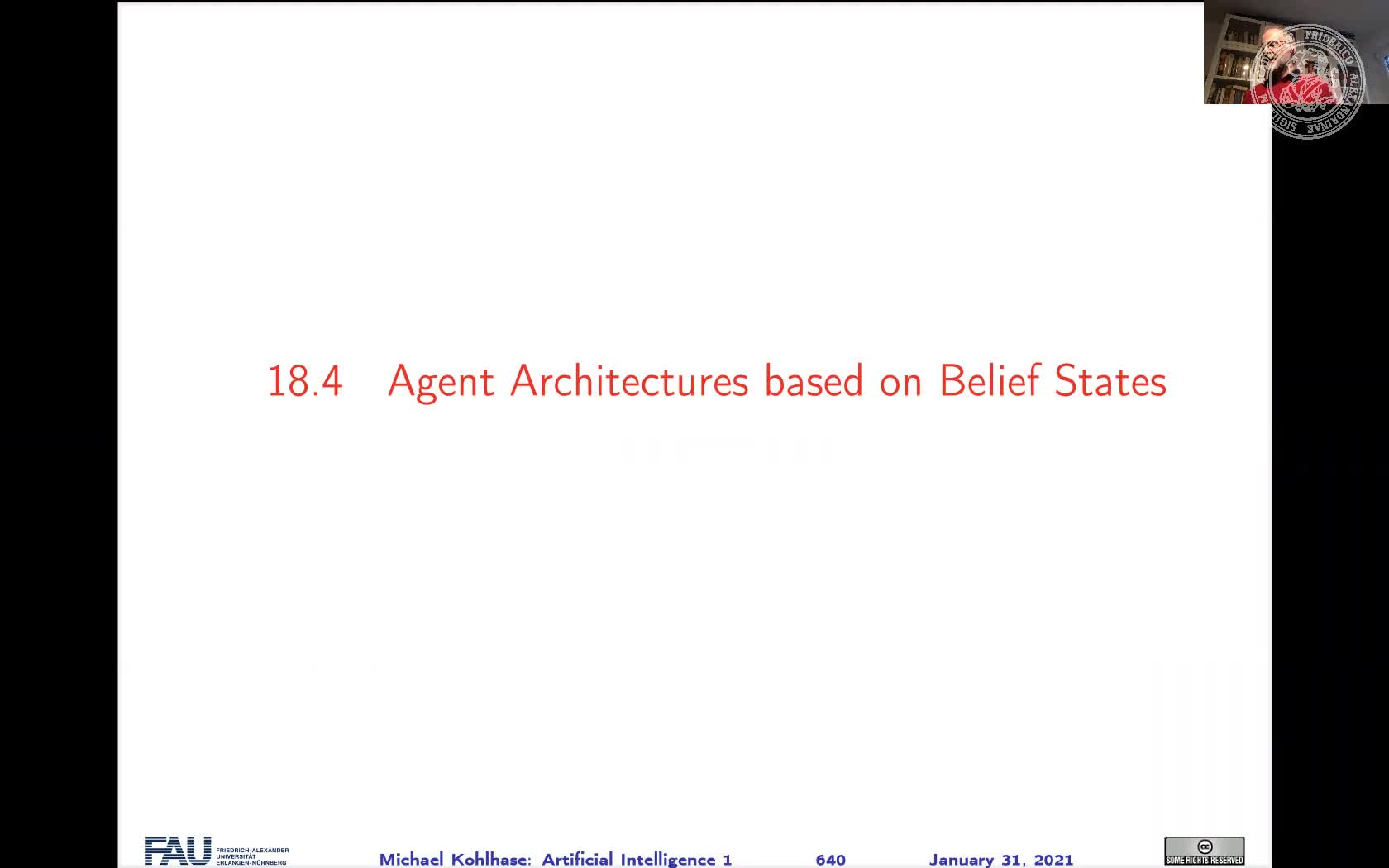 Agent Architectures based on Belief States preview image