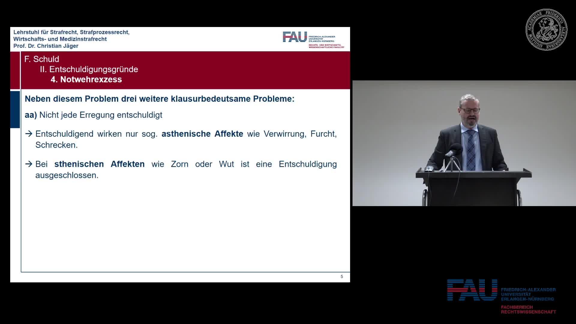 Grundkurs Strafrecht I - Einheit 24 preview image
