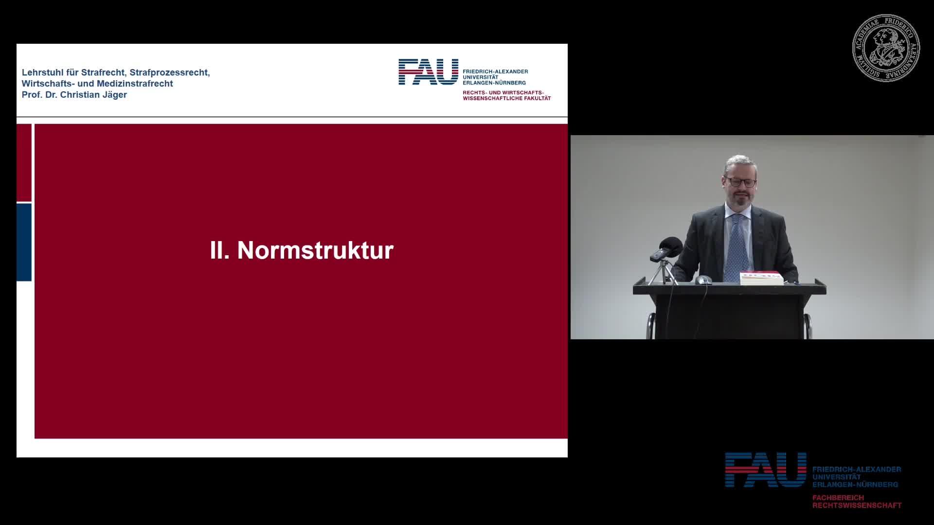 Grundkurs Strafrecht I - Einheit 27 preview image