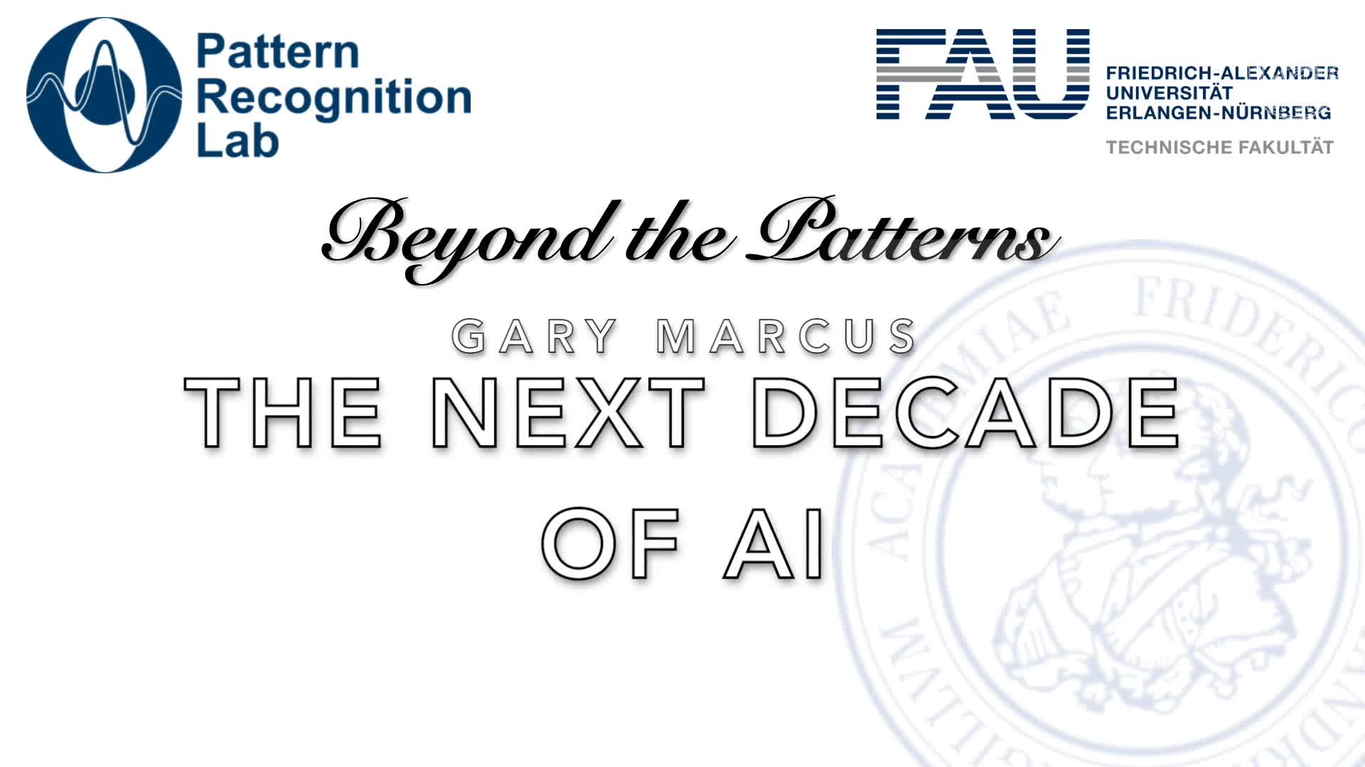 Beyond the Patterns - Gary Marcus - The Next Decade in AI preview image