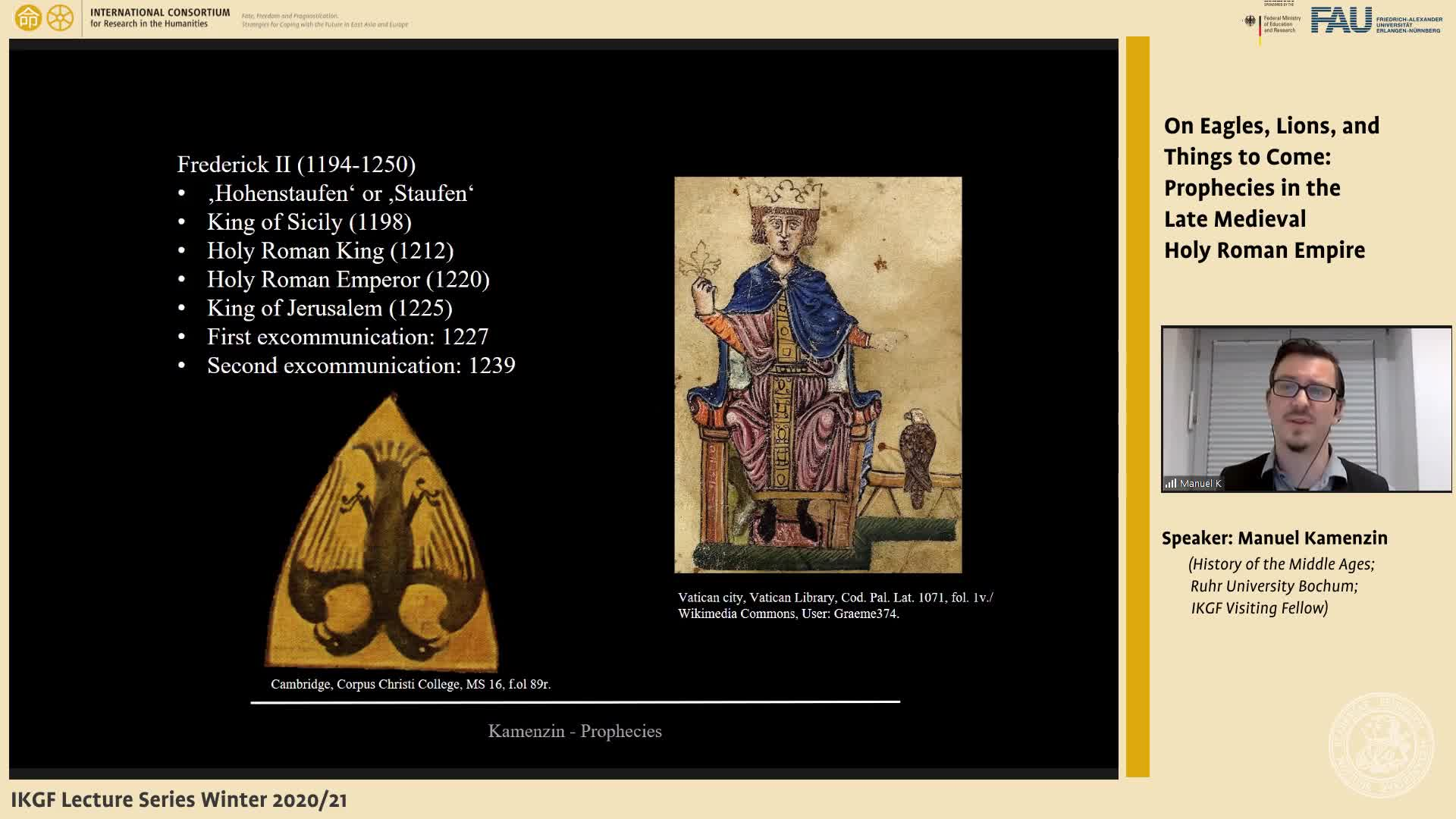 On Eagles, Lions, and Things to Come: Prophecies in the Late Medieval Holy Roman Empire preview image