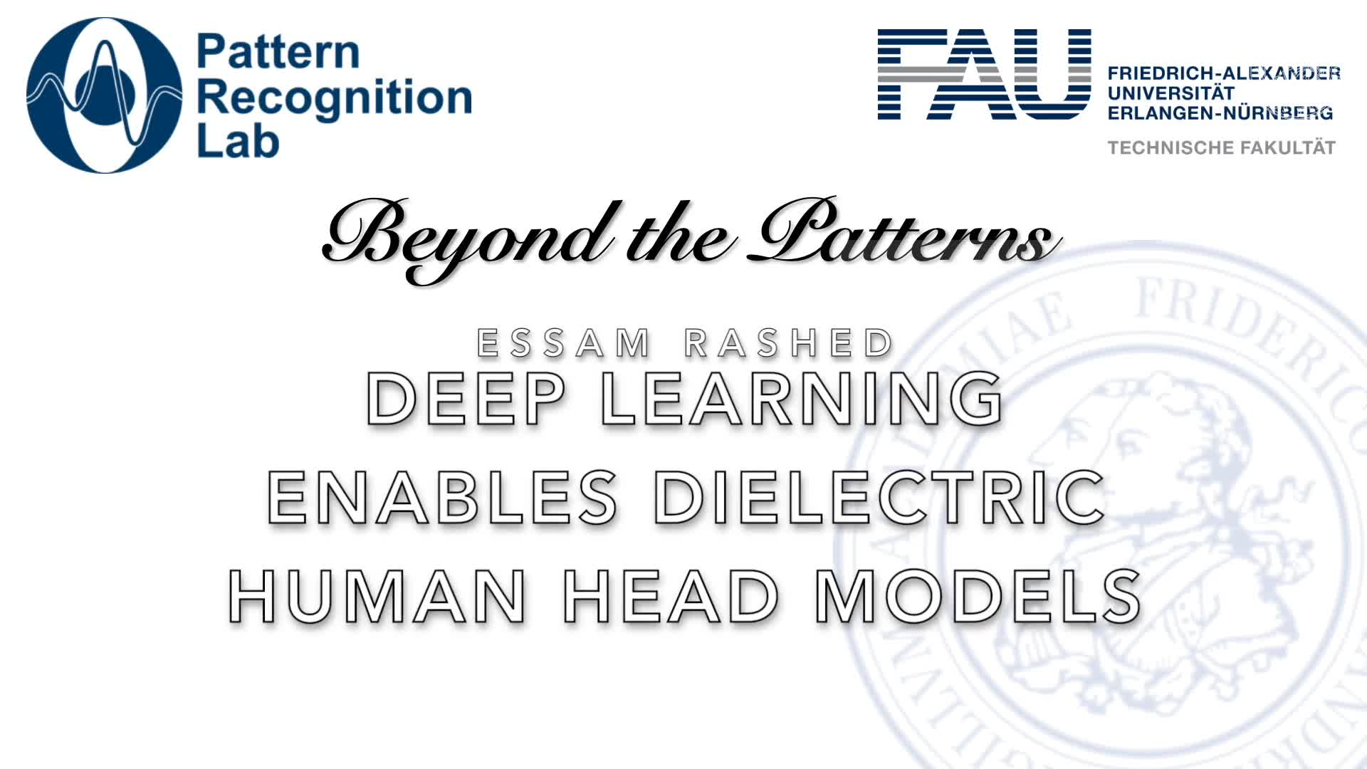 Beyond the Patterns - Essam Rashed - Human head models with deep learning enabled dielectric preview image