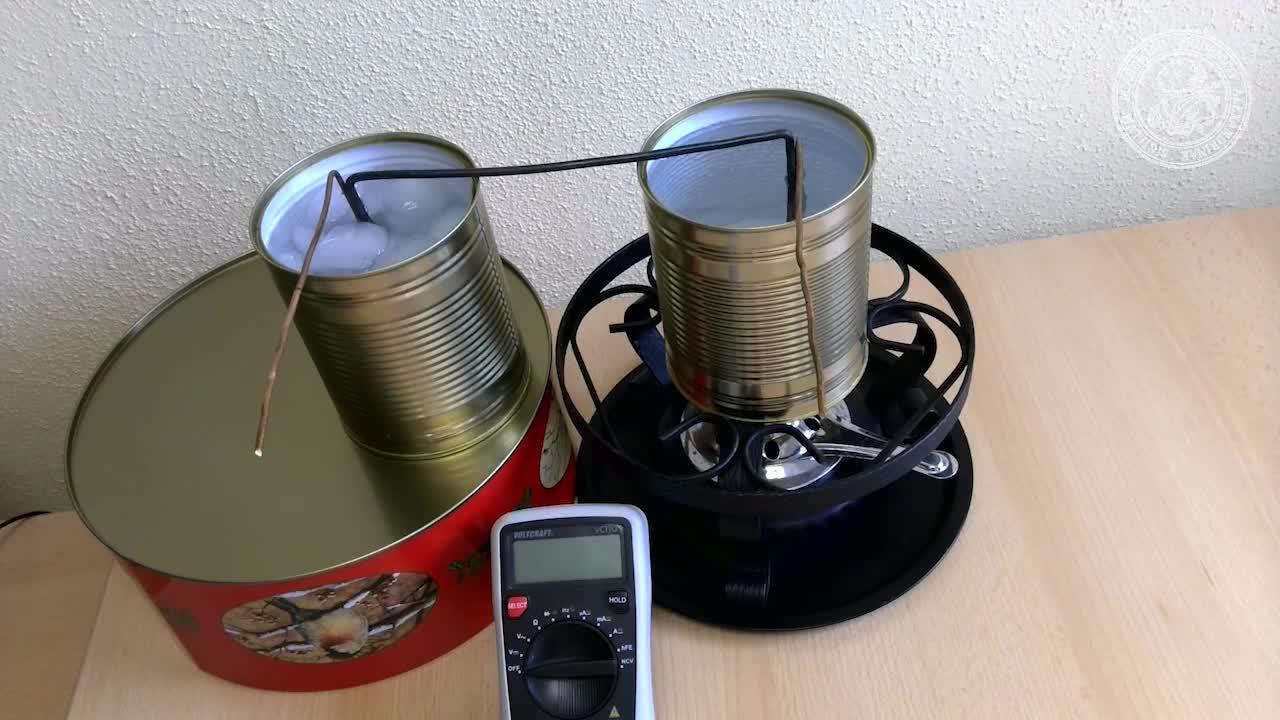 Elektrische Leitfähigkeit von Metallen preview image