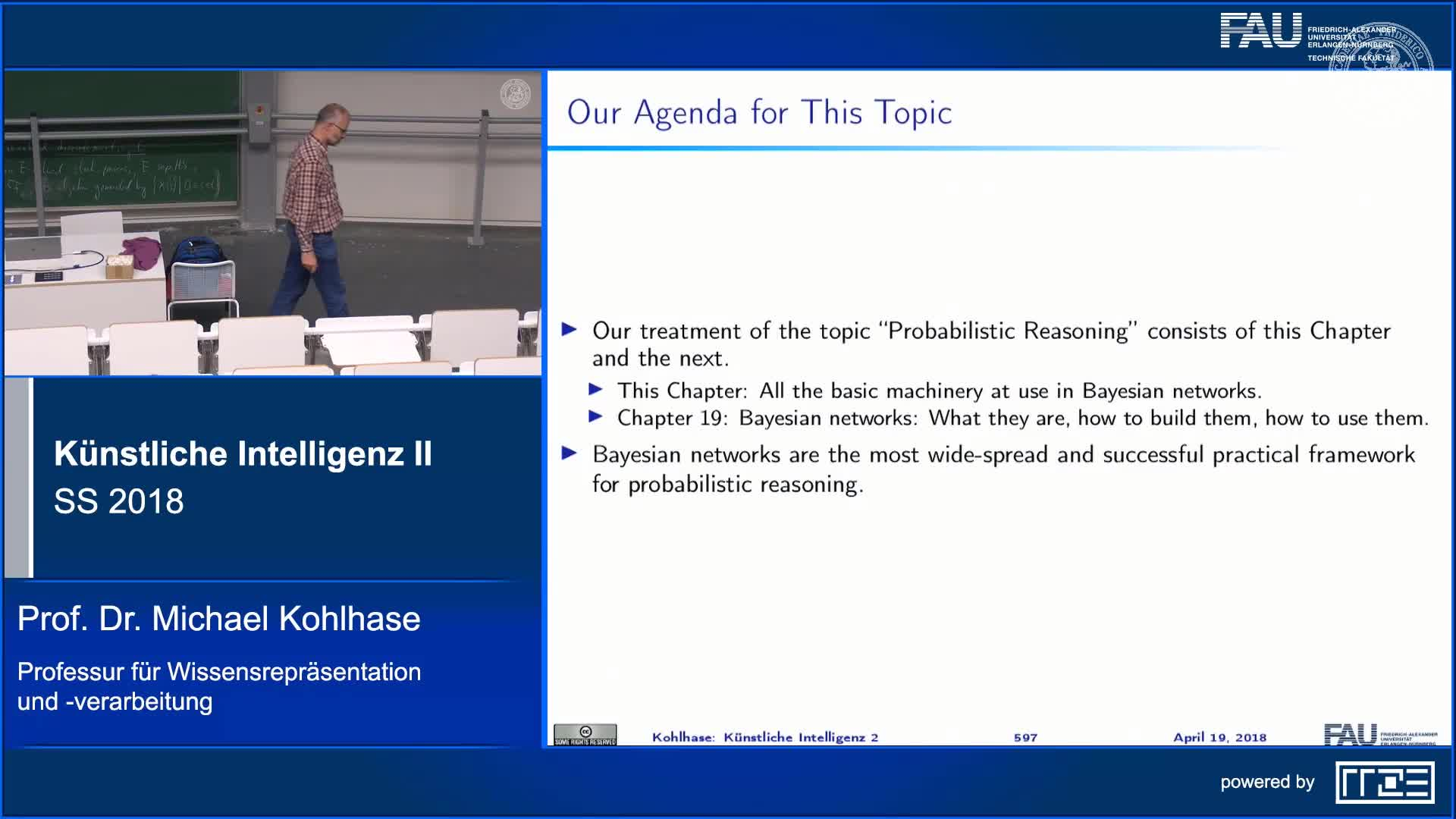 Recap Clip 3.6: Agenda for this Chapter: Basics of Probability Theory preview image