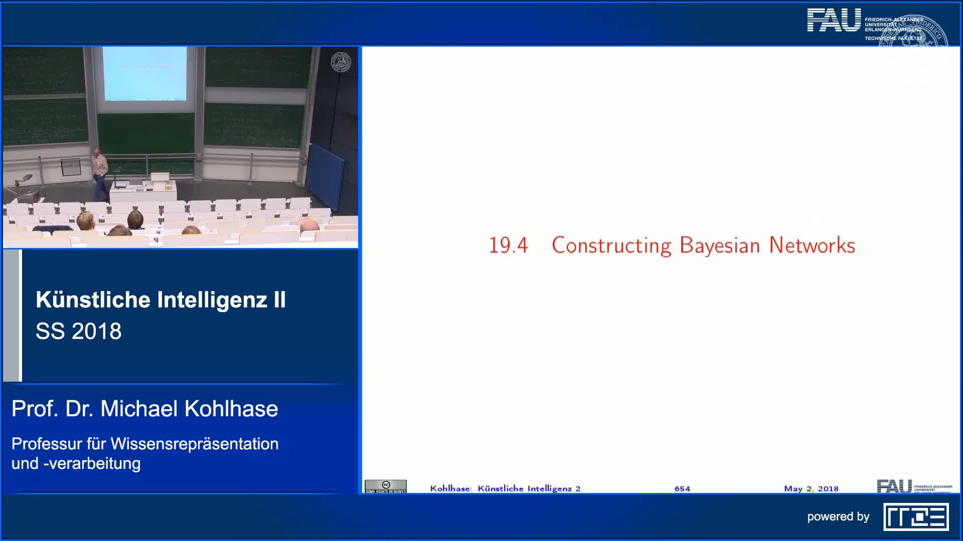Recap Clip 4.4: Constructing Bayesian Networks (Part 1) preview image