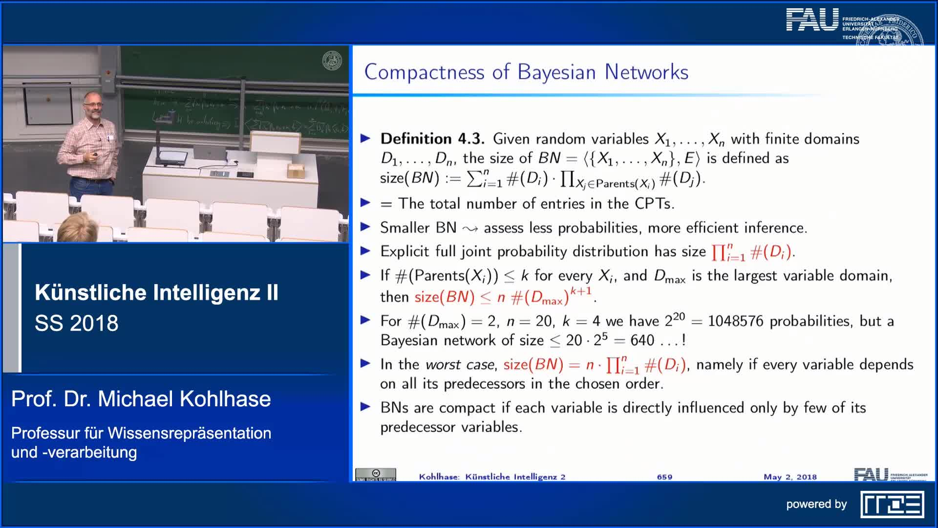 Recap Clip 4.5: Constructing Bayesian Networks (Part 2) preview image