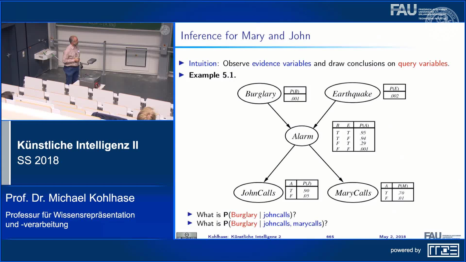Recap Clip 4.6: Inference in Bayesian Networks preview image