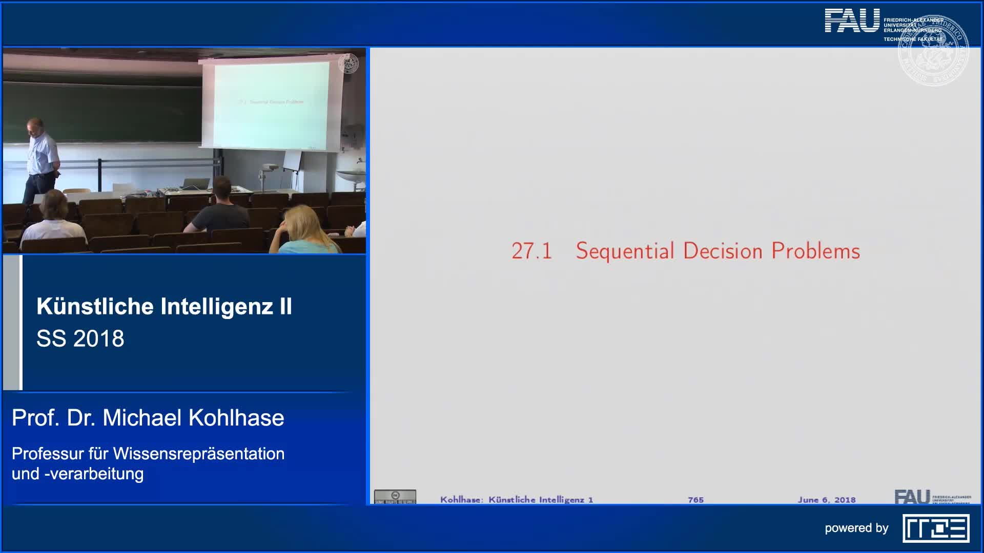 Recap Clip 7.2: Sequential Decision Problems preview image