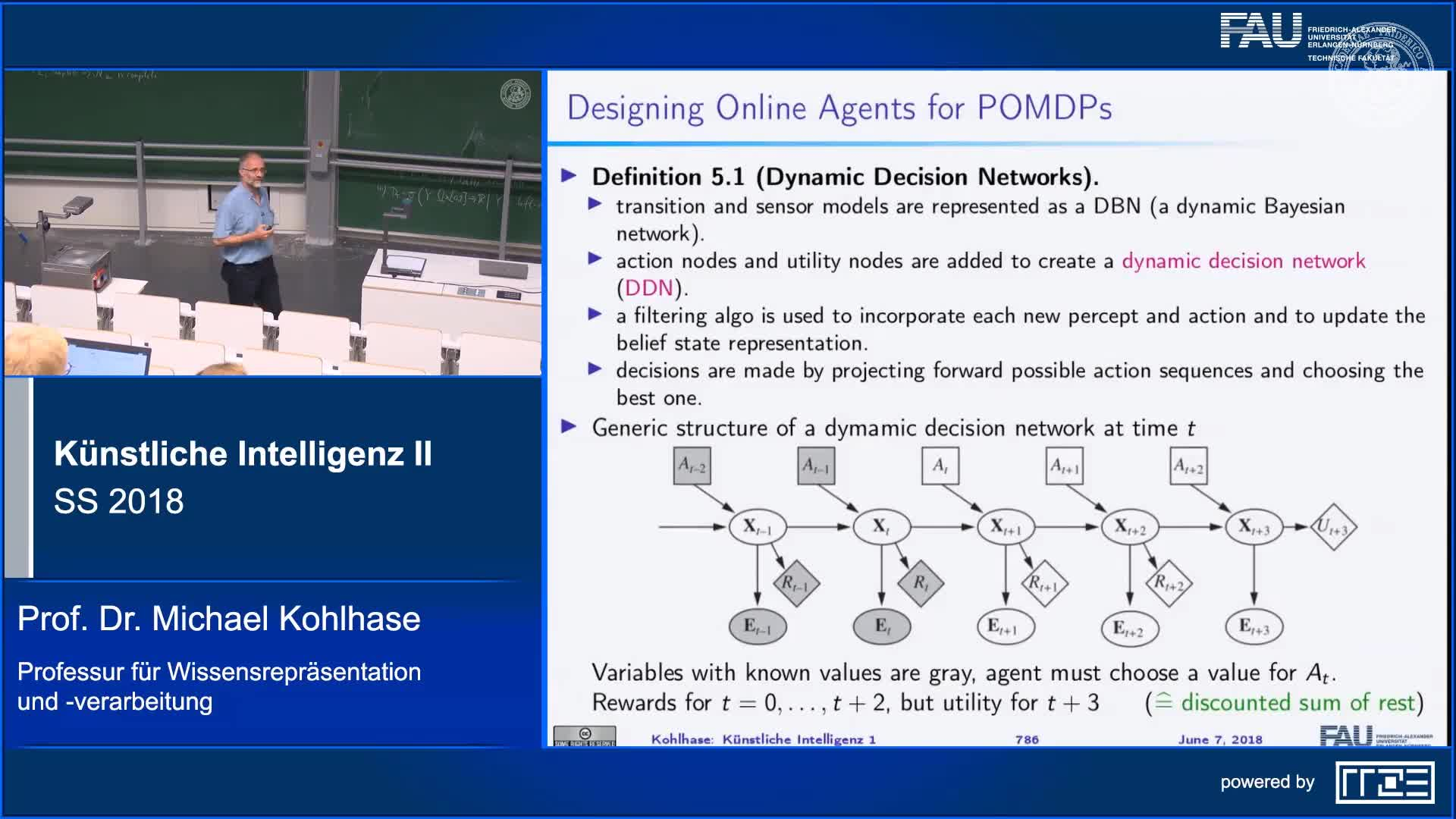 Recap Clip 7.6: Online Agents with POMDPs preview image