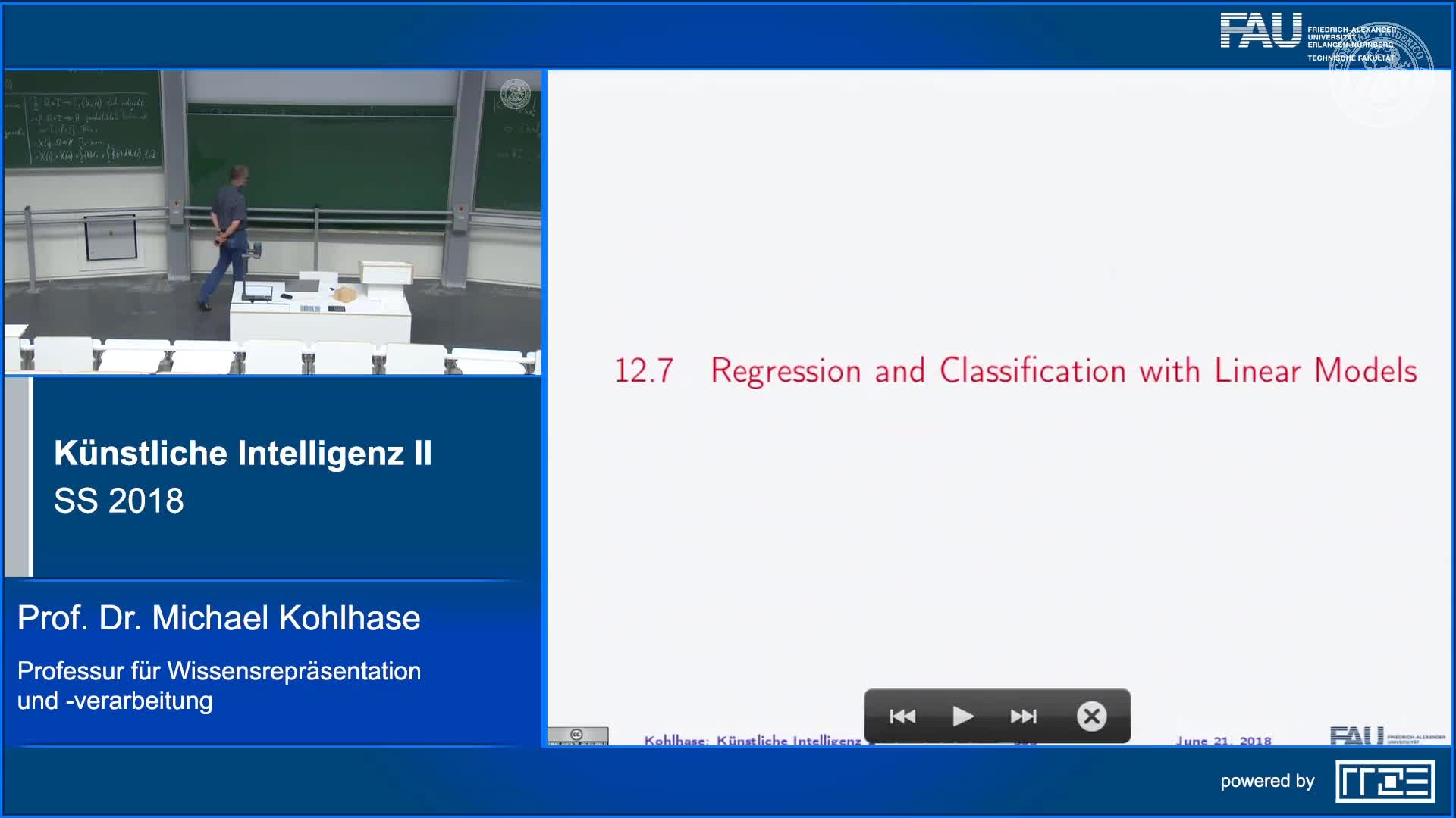 Recap Clip 8.11: Regression and Classification with Linear Models (Part 1) preview image
