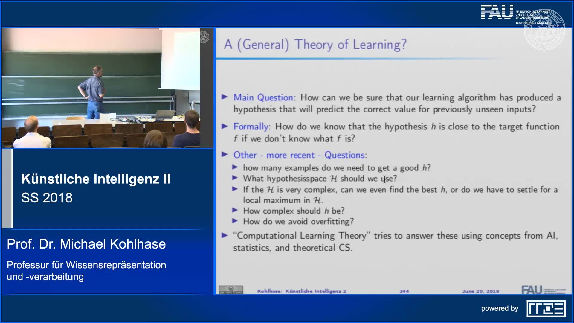 Recap Clip 8.9: Computational Learning Theory (Part 1) preview image