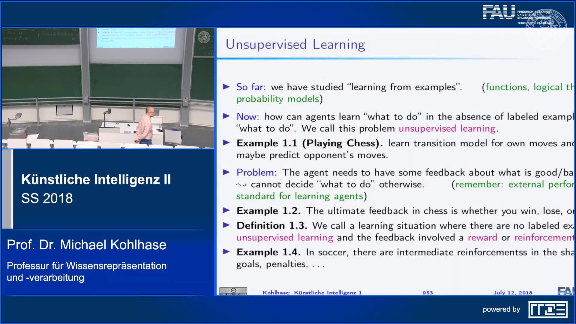 Recap Clip 11.1: Reinforcement Learning: Introduction & Motivation preview image