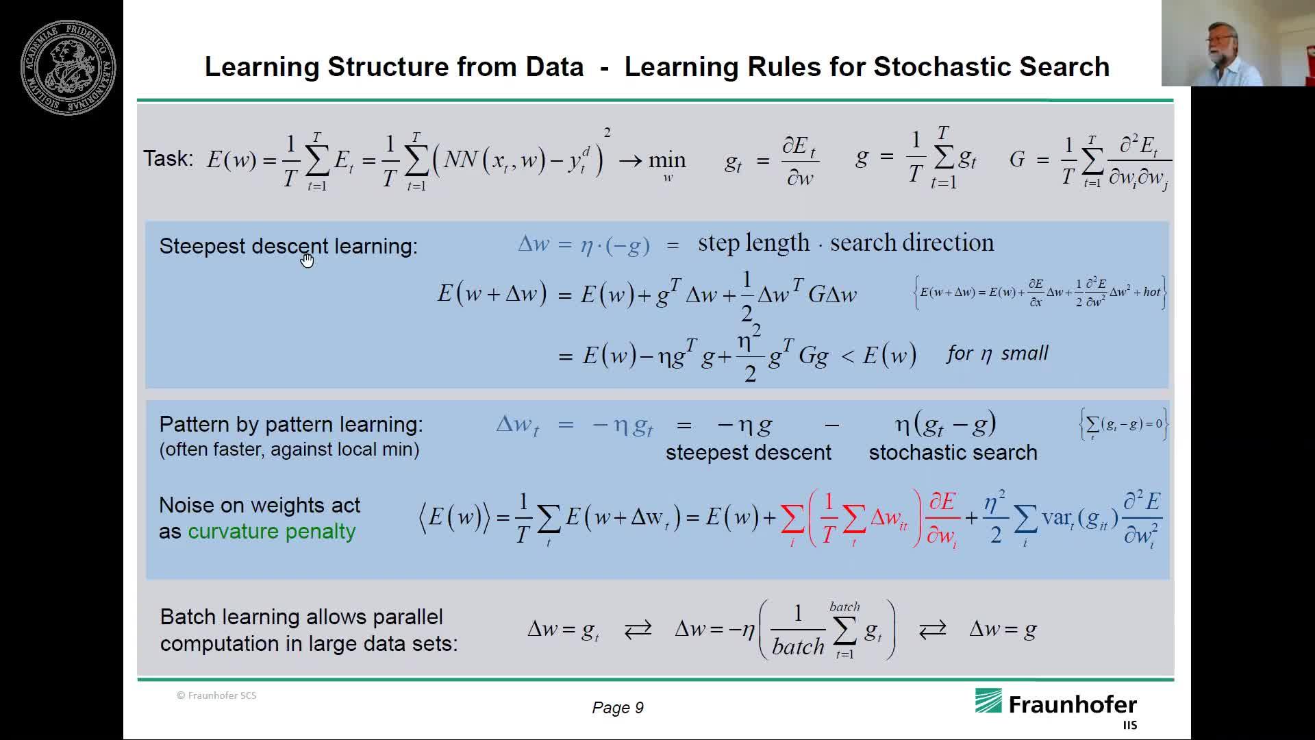 Mathematische Grundlagen zu Künstliche Intelligenz, Neuronale Netze und Data Analytics II preview image