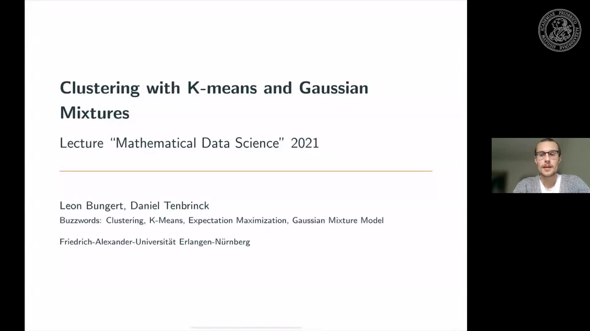 Clustering with K-means and Gaussian Mixtures preview image