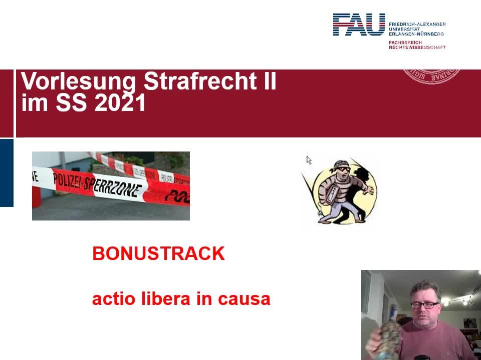 BONUSMATERIAL ACTIO LIBERA IN CAUSA preview image