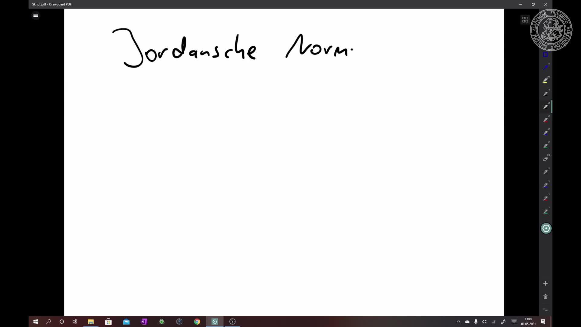 Jordansche Normalform preview image