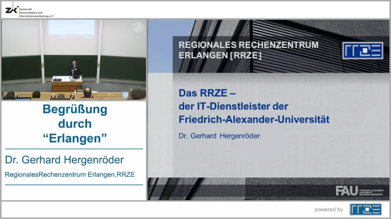"Begrüßung durch ""Erlangen"" preview image"