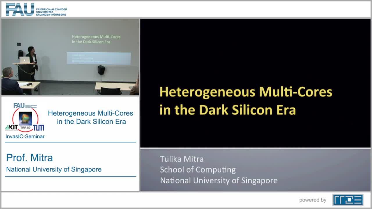 Heterogeneous Multi-cores in the Dark Silicon Era preview image