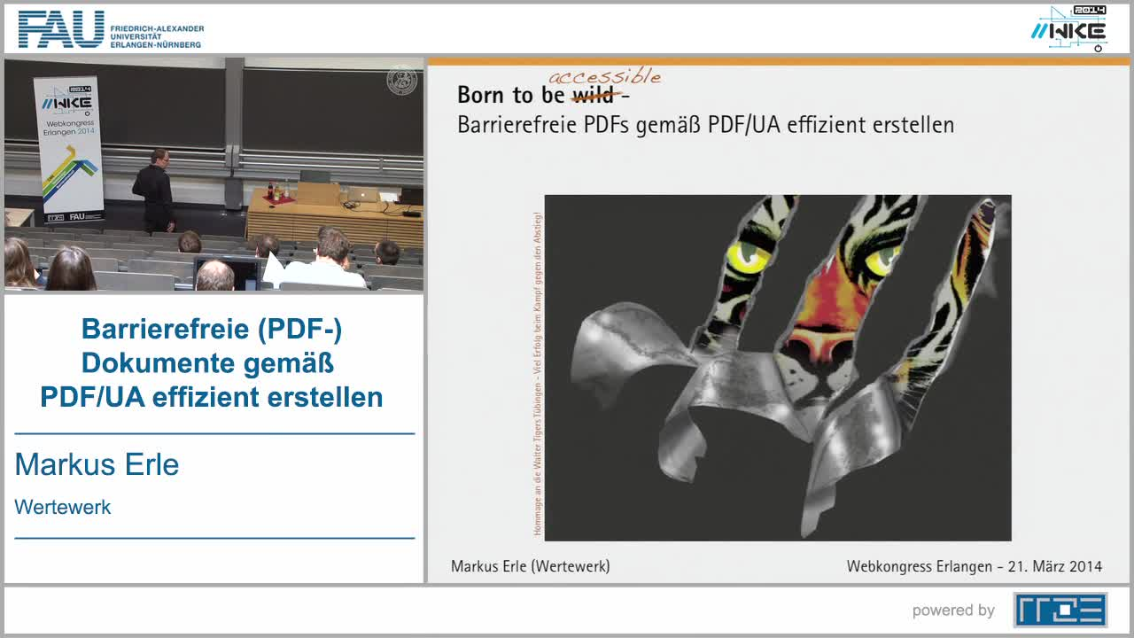 BF - Barrierefreie (PDF-)Dokumente gemäß PDF/UA effizient erstellen preview image
