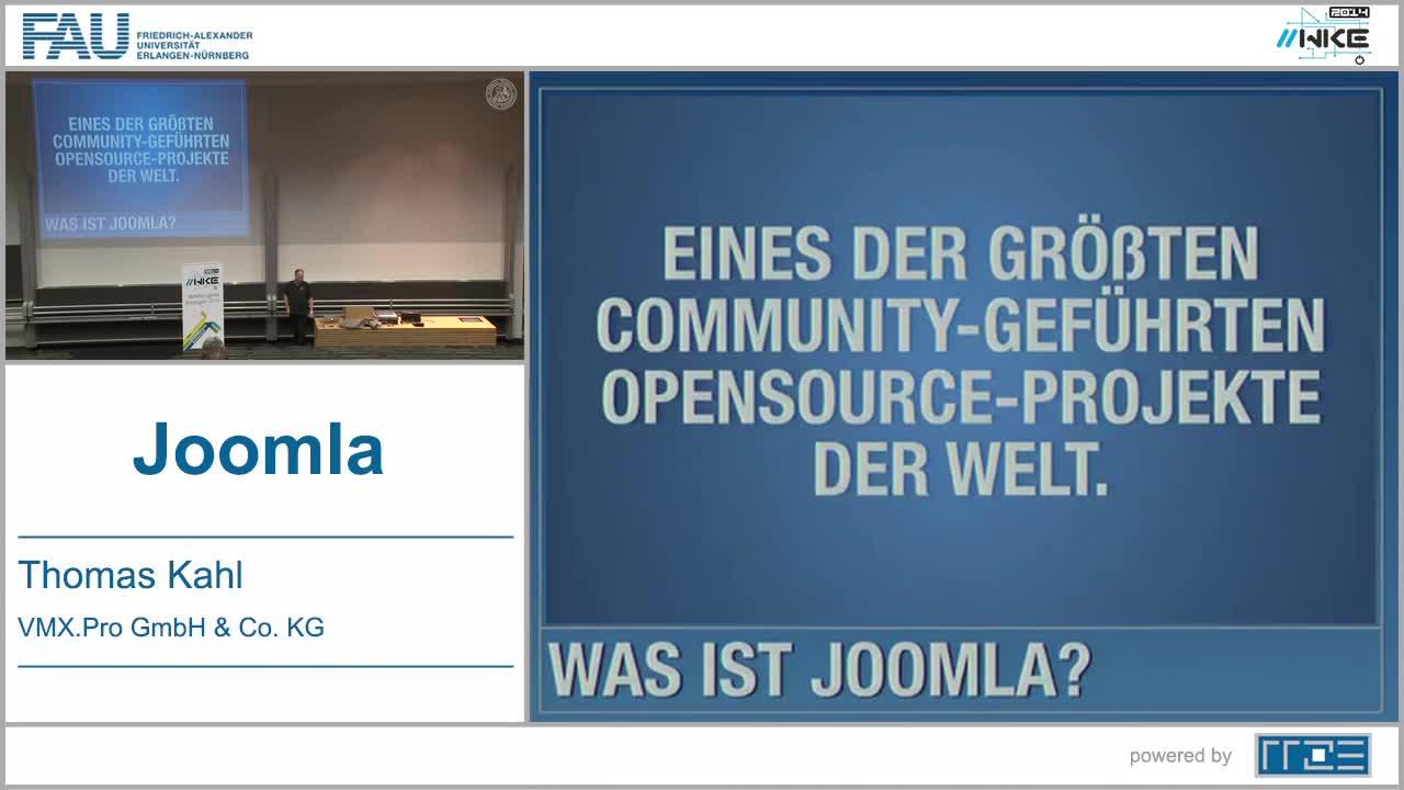 CMS - Joomla preview image
