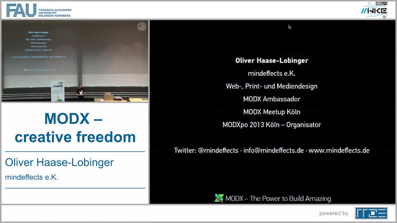 CMS - MODX – creative freedom preview image